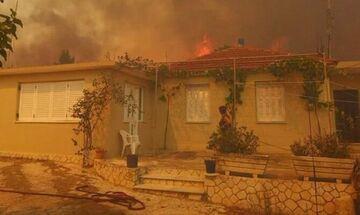 SOS εκπέμπει η Ζάκυνθος: Καίγονται σπίτια - Δυνάμεις ενισχύουν το νησί (vid)