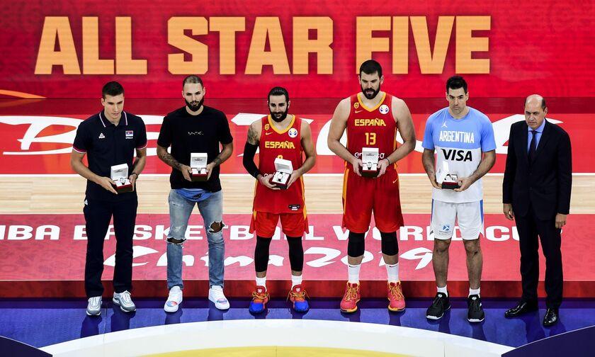 Mundobasket 2019: Τα highlights της καλύτερης πεντάδας (vids)