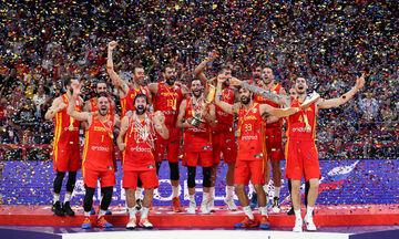 Live Streaming: Η πρωταθλήτρια κόσμου Ισπανία γιορτάζει στην Μαδρίτη
