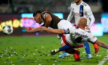 Ο Διαμαντάκος εκτέλεσε το Αμβούργο στη νίκη 2-0 της Σανκτ Πάουλι (vid)