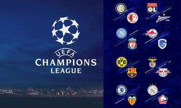 LIVE: Οι αγώνες της πρεμιέρας του Champions League (17/9)