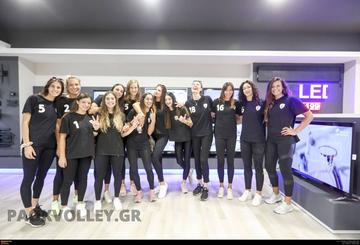 Παρουσίαση της νέας ομάδας βόλεϊ γυναικών  του ΠΑΟΚ