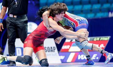 Παγκόσμιο Πρωτάθλημα Πάλης: Στην 5η θέση η Πρεβολαράκη