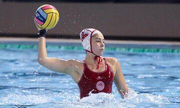 Πόλο γυναικών: Ήττα για τον Ολυμπιακό από την Εθνική Κίνας (12-6)
