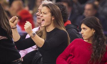 Σάκκαρη: «Οικογενειακή υπόθεση το να υποστηρίζεις τον Ολυμπιακό!» (pic)