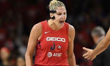 MVP της κανονικής περιόδου του WNBA η Έλενα Ντέλε Ντόν