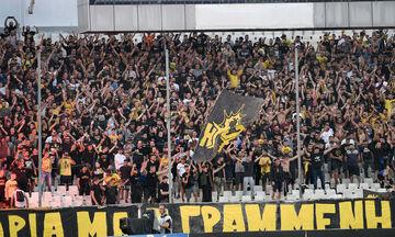 ΑΕΚ: «Μπλόκο» στους οπαδούς στο Αγρίνιο
