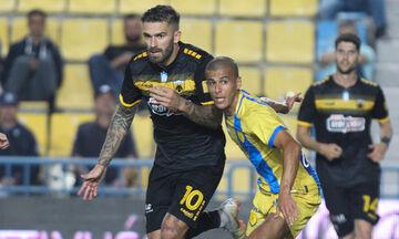 Παναιτωλικός - ΑΕΚ: Το 0-1 από τον Λιβάγια (vid)