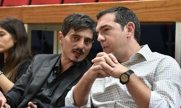 Ο Τσίπρας με Γιαννακόπουλο στο ΟΑΚΑ (vid)