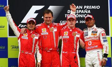 Από το 2008 είχε να πανηγυρίσει τρεις συνεχόμενες νίκες η Ferrari