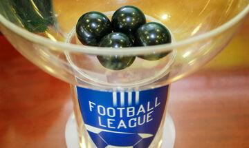 Το πρόγραμμα της πρώτης αγωνιστικής της Football League