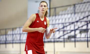Σπυριδοπούλου: «Στη Χαλκίδα με τον κόσμο του Ολυμπιακού απέναντι στην BLMA»