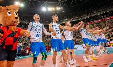 Eυρωβόλεϊ 2019: Σούπερ έκπληξη, η Σλοβενία απέκλεισε τη Ρωσία, στους «4» και η Πολωνία (highlights)
