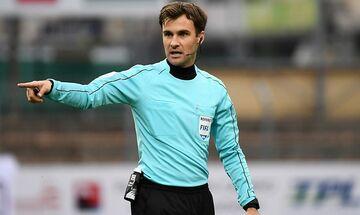 Διαιτητές 5ης αγωνιστικής: Ο Ελβετός Κλόσνερ στο ΑΕΚ - ΠΑΟΚ