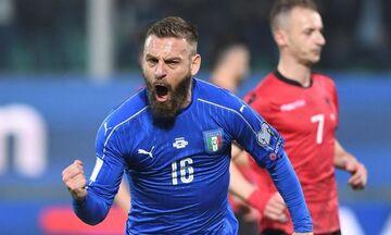 Ντε Ρόσι: Επιστρέφει στην Εθνική Ιταλίας ενόψει Ελλάδας!