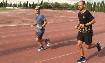 Το όνειρο του Νίκου Πολιά: «Πενήντα χρονών να τρέξω στην κλασσική διαδρομή» (pics)