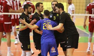 Volleyleague 7,5 ομάδων: Πουθενά ΑΕΚ, Παμβοχαϊκός, προς τοπικό ο Εθνικός Αλεξανδρούπολης