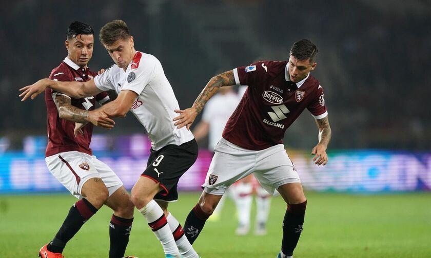 Serie A: Νίκη με ανατροπή για τη Τορίνο, 2-1 τη Μίλαν (αποτελέσματα, βαθμολογία)