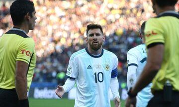 Αργεντινή: Μένει η ποινή του Μέσι για τα σχόλια με τη Χιλή