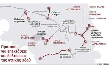 Επεκτάσεις Αττικής Οδού προς Ραφήνα, Πετρούπολη, Αιγάλεω, Αργυρούπολη, Καισαριανή, Ελληνικό