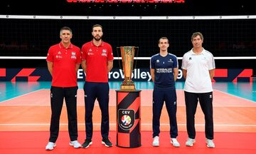 Live Streaming: Eurovolley 2019: Σερβία - Γαλλία (21:45)