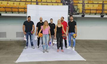 Oλυμπιακός: Παρόντες όλοι οι αρχηγοί  στη media day του μπάσκετ! (pics & vid)