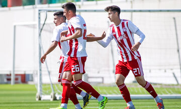 Super League K19: Επιστροφή στις νίκες για τον Ολυμπιακό, 3-1 τη Λαμία