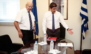 Ο Αυγενάκης «φωτογραφίζει» τον Βασιλακόπουλο: «Κάποιοι έχουν ξεχαστεί στη θέση του προέδρου»
