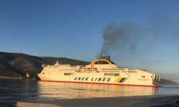 Ηγουμενίτσα: Πυρκαγιά ξέσπασε σε πλοίο με προορισμό την Βενετία