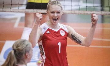 Σβερίν-Ολυμπιακός 3-2: Η επιστροφή της Κατερίνας Γιώτα