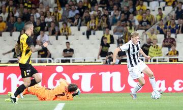 ΑΕΚ-ΠΑΟΚ: Το γκολ του Σφιντέρσκι για το 0-1 (vid)
