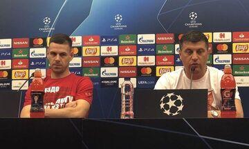 Μιλόγεβιτς: «Ξέρω για τη φιλία και την αδελφοσύνη, αλλά αγωνιζόμαστε για τον Ερυθρό Αστέρα»