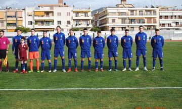 Εθνική Παίδων: Φιλική ήττα 2-0 από την Κύπρο