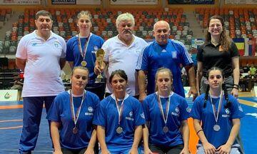Πάλη: Σάρωσαν τα μετάλλια οι Έλληνες αθλητές στο Βαλκανικό Πρωτάθλημα