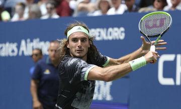 Τσιτσιπάς: Πρόκριση επί του Μπασιλασβίλι στο China Open