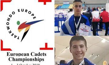 Ταεκβοντό: «Ασημένιος» πρωταθλητής Ευρώπης ο Λάλας, χάλκινο μετάλλιο ο Καραγκούλας