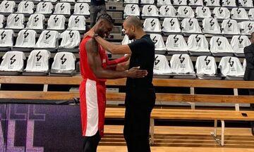 Βιλερμπάν - Ολυμπιακός: Δύο φίλοι από τα παλιά - Ο Πάρκερ καλωσόρισε τον Πολ