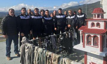 Φόρο τιμής στους αδικοχαμένους οπαδούς του ΠΑΟΚ από το τμήμα πόλο των «ασπρόμαυρων»!