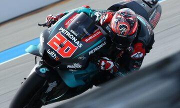 Moto GP: Ο Κουαρταραρό την pole position στο Grand Prix της Ταϊλάνδης