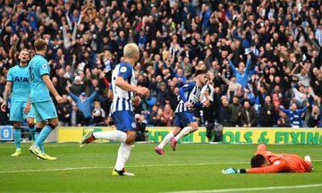 Premier League: Βαθαίνει η κρίση στην Τότεναμ, 3-0 από την Μπράιτον