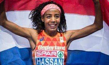 Ντόχα: Ανίκητη η Χασάν, μετά τα 1.500μ. πήρε το χρυσό και στα 10.000μ.!