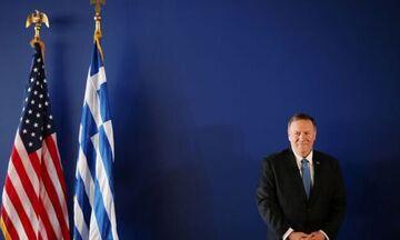 Πομπέo: Οι ΗΠΑ στο πλευρό της Ελλάδας - Θα παρέμβουμε σε περίπτωση νέων «Ιμίων»