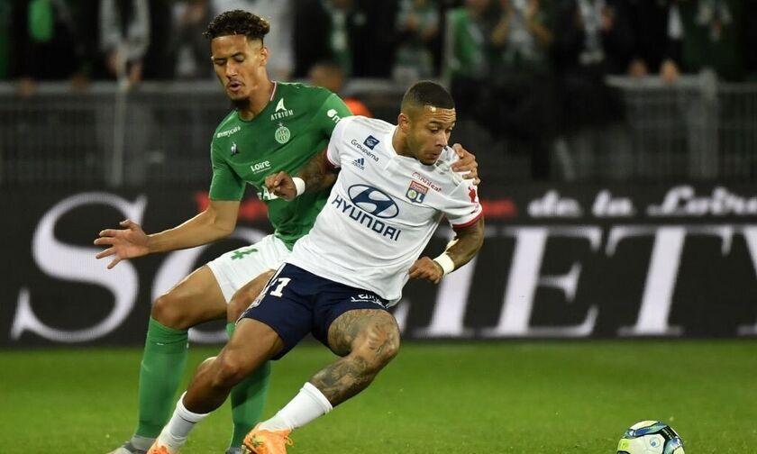 Ligue 1: Ήττα στο 90' για τη Λιόν από τη Σεντ Ετιέν (αποτελέσματα, βαθμολογία)