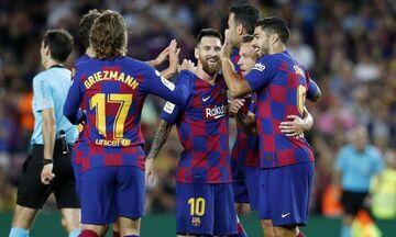 La Liga: «Πολυφωνική» Μπάρτσα στην τεσσάρα επί της Σεβίλλης (highlights)