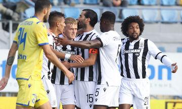 Αστέρας Τρίπολης - ΠΑΟΚ 1-2: Τα highlights του αγώνα