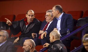 Διαψεύδει τις επαφές με προπονητές ο Ολυμπιακός - Διευθυντής στο... παρκέ ο Σπανούλης