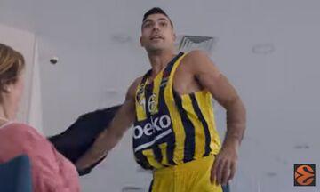 Ο Σλούκας πρωταγωνιστεί στο νέο τρέιλερ της EuroLeague (vid)