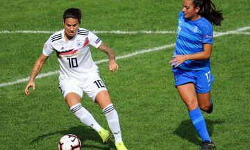 Euro 2021: Ήττα-μάθημα 5-0 της εθνικής Γυναικών από τη Γερμανία