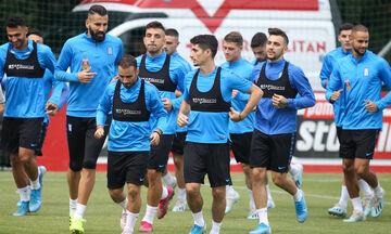 Mε Μπακάκη η προετοιμασία της Εθνικής για Ιταλία και Βοσνία (vid)