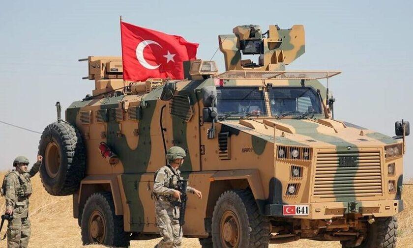 Live: Ξεκίνησε ο πόλεμος-Ζωντανή εικόνα από τους  τουρκικούς βομβαρδισμούς  στη Συρία  (vids)
